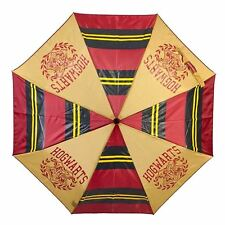 Officially Licensed Harry Potter Hogwarts Crest Compact Umbrella