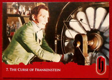 HAMMER HORROR - Series Two - Card #07 - The Curse of Frankenstein - Strictly Ink