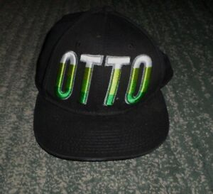 Mens OTTO CAP FLIP IT Embroidered Logos Fashion Multi-Color Hat, Snap Strap, GUC