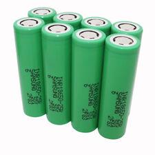 8pcs 18650 25R 2500mAh 3.7V Batería Li-ion High Drain INR Recargable para Vape