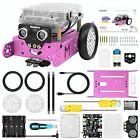 mBot Pink Robot Kit, Robot Toys for Girls, Robotics Kit with Arduino/Scratch