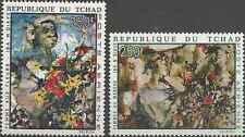Timbres Arts Tchad PA73/4 ** lot 17712