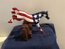 Rare Peter Stone Test Patriot Jumper horse painted by Elaine Stone