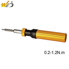 Adjustable Preset Torque Screwdriver Prefabricated Type 0.2-1.2 N.m  AYQ-1.2