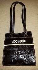 American West Brown Leather Shoulder Bag New
