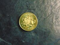 Barbados 5 Cents KM# 11 1974   A635 I COMBINE SHIPPING