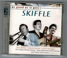 SKIFFLE As Good As It Gets Donegan Duncan Vipers Double CD Album DO 250522 L18
