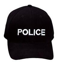 Police Supreme Low Profile Insignia Cap - Black 9283 Rothco