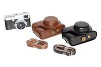 New Leather camera case bag Cover for Fujifilm Fuji X100 X100S X100T Finepix