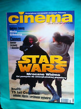 ►POLISH MAGAZINE CINEMA 1999 STAR WARS Phantom Menace Franka Potente Mel Gibson