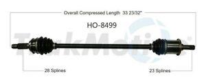 TrakMotive HO-8499 CV Axle Shaft For 10-15 Honda Accord Crosstour Crosstour