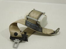 VW EOS 1F NS Left Rear Seat Belt Cream Beige 1Q0857805
