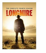 Longmire: The Complete Fourth Season 4, NEW, Sealed, (DVD, 2016), Fast Shipping!