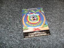 SEGA MEGADRIVE TINY TOONS GAME - PORTUGAL PORTUGESE INSTRUCTION MANUAL - RARE