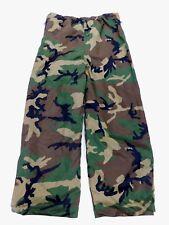 US Camo GoreTex Reversible Woodland BDU Desert DCU Cold Weather Pants L Large