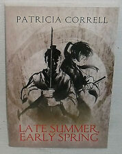 Late Summer, Early Spring Book by Patricia Correll Paperback SIGNED Autographed