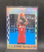 James Harden 2019-20 Illusions Clear Shots Insert Blue #11 NBA Houston Rockets
