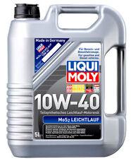 Liqui Moly Motoröl MoS2 Leichtlauf, 10W-40, 5-Liter Kanister - Art.Nr. 1092