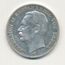 3 Mark Baden 1912 G - Friedrich II