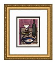 "50% SALE     Bernard BUFFET 1967 Color Lithograph ""The Morning Table"" FRAMED COA"