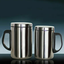 500/350ml Stainless Steel Mug Cup Double Wall Portable Travel Coffee Tea Cups