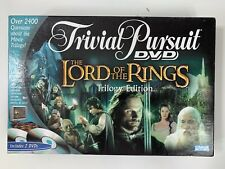 LORD OF THE RINGS Trivial Pursuit DVD Triology Edition