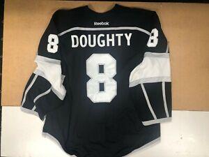 DREW DOUGHTY GAME-USED PLAYOFF WORN 2015-16 LA KINGS JERSEY MEIGRAY LOA COA