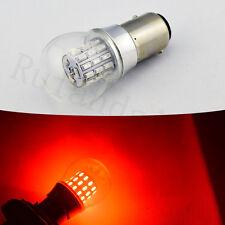 New listing 10xRed 1157 6W Bay15D P21/5W 3014 39Smd Car Led Brake Turn Signal Lights Bulb