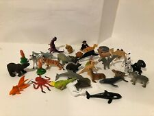 ~30 LOT Plastic Zoo Animals Party Favor Goodie Bag Toy Dinosaurs Wild Tube #1