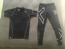 2XU men power compression top and tights