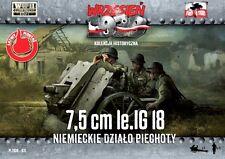 7,5cm le.IG 18 W/CREW - WW II INFANTRY GUN (GERMAN WEHRMACHT MARKINGS) 1/72 F2F