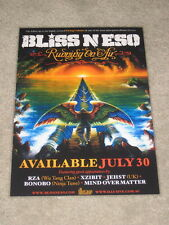 BLISS N ESO - RUNNING ON AIR -  LAMINATED PROMO POSTER