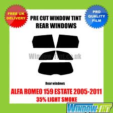 ALFA ROMEO 159 Estate 2005-2011 35% di LUCE POSTERIORE TASTINI finestra Tinta