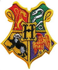 Harry Potter Hogwards Wizzard Crest Embroidered Iron Patch