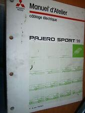 Mitsubishi PAJERO SPORT 1999 à 2004 : Schémas électriques
