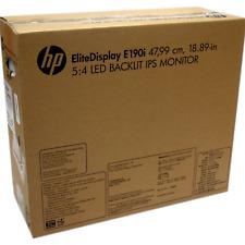 Brand New HP EliteDisplay E190i 18.9-inch 5:4 LED Backlit IPS Monitor