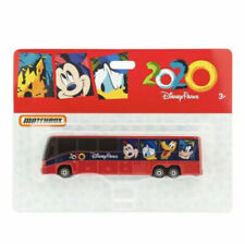 Disney World Parks 2020 Diecast Matchbox Logo Mickey Transportation Bus NEW
