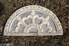 MOLD curved fleur di lis over the door / wall embellishment mould