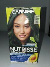 Garnier Nutrisse EM1 Dark Matcha Deep Intense Emerald Ultra Color Hair Dye