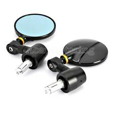 """7/8"""" Handle Bar End CNC Rearview Mirrors For Yamaha YZF R1 R1S R6 R6S 600R 750R"""