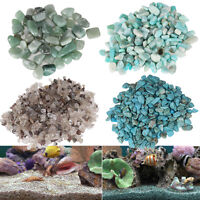 100g Natural Quartz Stone Gravel Pebble Fish Tank Flowerpot Aquarium Specimen