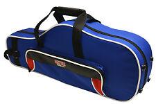 Gator Spirit Series Lightweight Alto Saxophone Case Red & Blue  GL-ALTOSAX-RB