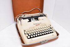 Vintage Smith Corona Electric Typewriter with Case 1950's WORKS!