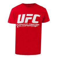 UFC Basic Logo T-Shirt Red