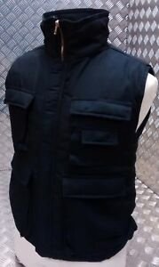 Hunters Action Vest Stealth Black Tactical  Fishing Body Warmer All Sizes - NEW