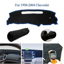 Car DashMat Dash Cover Dashboard Mat Black with Blue For Chevrolet S10 1998-2004