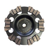 "5"" German Engineered SHOXX Threaded UBX Segment Cup Wheel for Concrete"