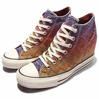 Converse x Missoni Chuck Taylor All Star Lux Gradient Women Wedges Shoes 547311C