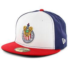 "New Era 5950 Chivas De Guadalajara ""Official"" Fitted Hat (NV/WH-RD) Soccer Cap"