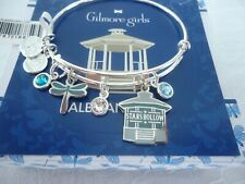 Alex and Ani Gilmore Girls Stars Hollow Silver Charm Bangle Bracelet